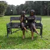 2 filles sur banc b933