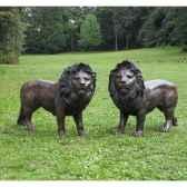 couple de lions b1048