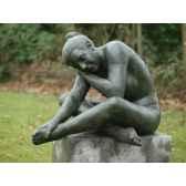 femme nue couchant b1092
