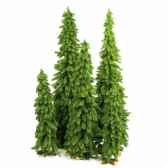 sapin downswept forestree wood cross base h61cm van der gucht 31ftd24