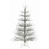sapin deco tree silver wrapped h152 van der gucht 31wdts152
