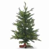 sapin tacoma table pe tree wooden base h60cm van der gucht 31tac60