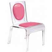 chaise personnalisable baby gloss orange aitali
