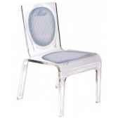 chaise personnalisable baby lines orange aitali