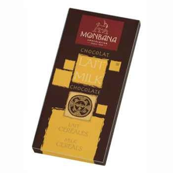 Présentoir 12 tablettes chocolat lait céréales Monbana -11910002