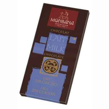 Présentoir 12 tablettes chocolat lait Monbana -11910001