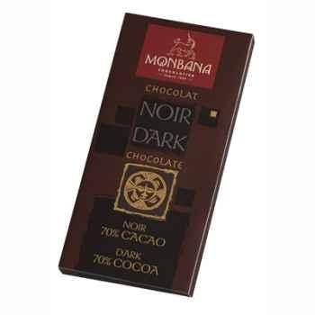 Présentoir 12 tablettes chocolat noir 70% Monbana -11910004