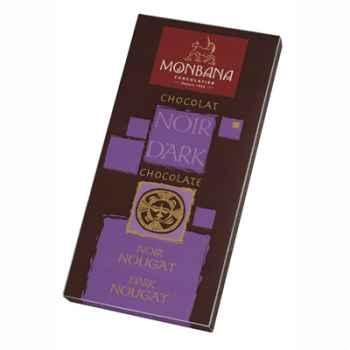 Présentoir 12 tablettes chocolat noir nougat -11910006
