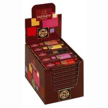 Pack 30 barres chocolatées Monbana -11910059