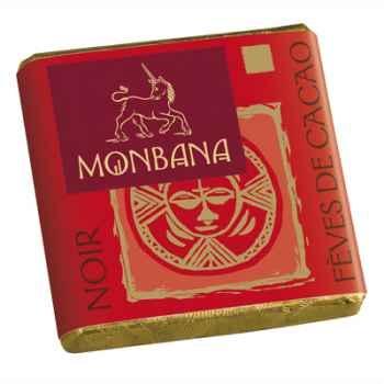 Chocolat Napolitain Noir aux Fèves de cacao 8% Monbana -11120048