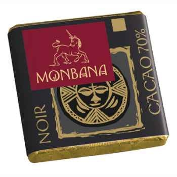 Chocolat Napolitain Noir 70% Monbana -11110891
