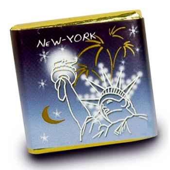 Chocolat Collection Villes Lumières Monbana, 30 napolitains -11180043