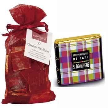 Chocolat Collection Pays producteurs de café Monbana, sachet chrysalide -11120149
