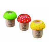 boite de 6 kaleidoscopes champignons jouet en bois plantoys 4317