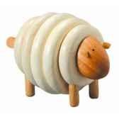 mouton a lacer jouet en bois plantoys 5150