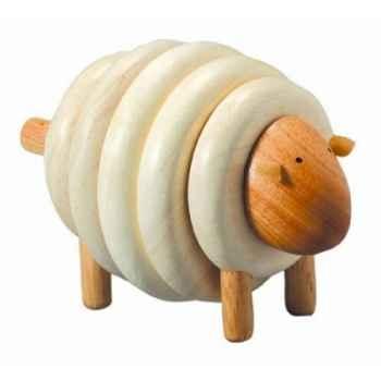 Mouton à lacer jouet en bois plantoys 5150
