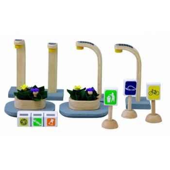 Mobilier eco-urbain jouet en bois plantoys 6232