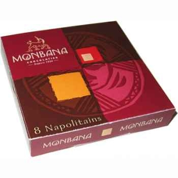 Lot de 24 étuis de 8 chocolats napolitains Monbana -11180133