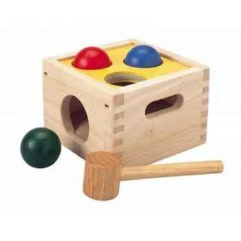 Boite à marteler jouet en bois plantoys 9424