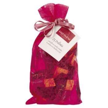 Sachet Chrysalide 25 amandes chocolatée Monbana -11590609
