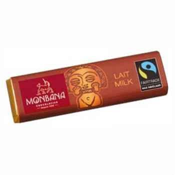 Présentoir de 30 barres chocolatées lait Monbana -11910058