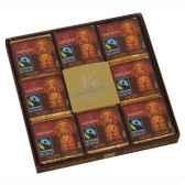 coffrets collection de 18 napolitains noir monbana 11111661