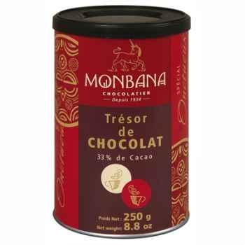 Boîte de chocolat en poudre Trésor de chocolat Monbana -121M098