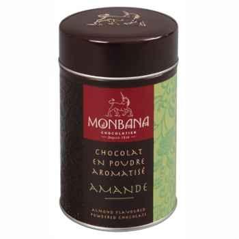 Boîte de chocolat en poudre arôme Amande Monbana -121M016