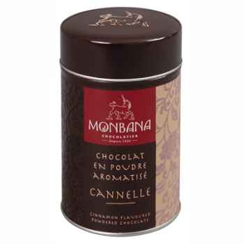 Boîte de chocolat en poudre arôme Cannelle Monbana -121M064