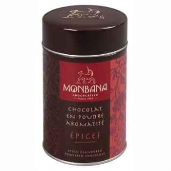 Boîte de chocolat en poudre arôme Epices Monbana -121M072