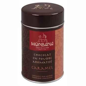 Boîte de chocolat en poudre arôme Caramel Monbana -121M074
