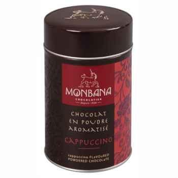 Boîte de chocolat en poudre arôme Cappuccino Monbana -121M093
