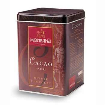 Boîte fer de Cacao Pur Monbana -121M075