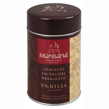 Boîte de chocolat en poudre arôme Vanille Monbana -121M013