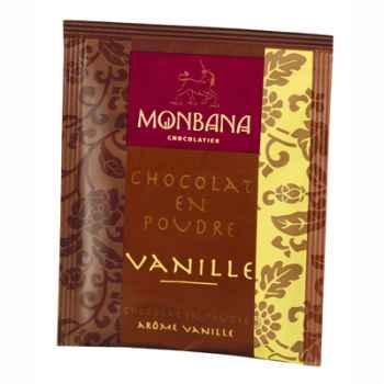 Dosette de chocolat en poudre arôme Vanille Monbana -121M051
