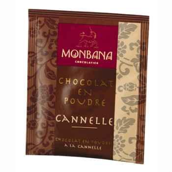 Dosette de chocolat en poudre arôme Cannelle Monbana -121M077