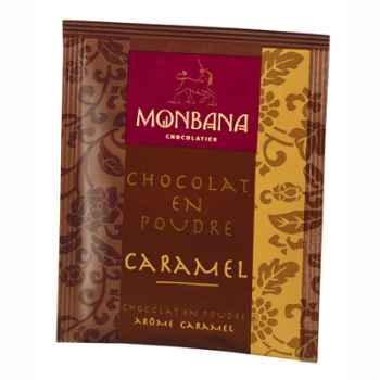 Dosette de chocolat en poudre arôme Caramel Monbana -121M079