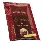 dosette de supreme de chocolat poudre arome vanille monbana 121m161