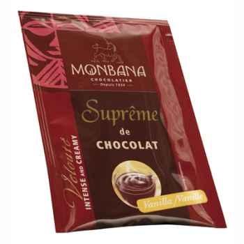 Dosette de Suprême de Chocolat poudre arôme Vanille Monbana -121M161