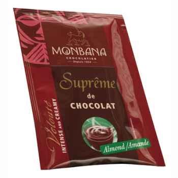 Dosette de Suprême de Chocolat en poudre arôme Amande Monbana -121M163