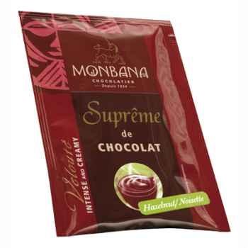 Dosette de Suprême de Chocolat en poudre arôme Noisettes Monbana -121M164