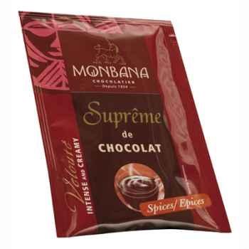 Dosette de Suprême de Chocolat en poudre arôme Epices Monbana -121M165