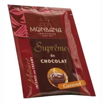 Dosette de Suprême de Chocolat en poudre arôme Caramel Monbana -121M167