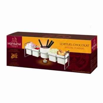 Coffret cadeaux fondue à chocolat Monbana -157001