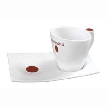6 Tasses design en porcelaine Monbana -151042