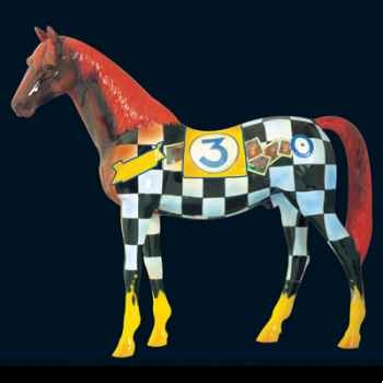 Cheval The racing horse Art in the City - 80203