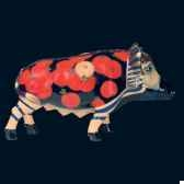cochon wild egyptian passion pig art in the city 80502