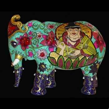 Elephant Buddha Art in the City - 83308