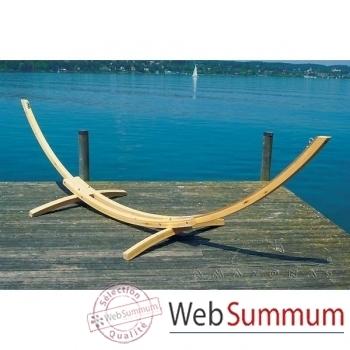 Support hamac Arcus larch en bois de mélèze - 4045000
