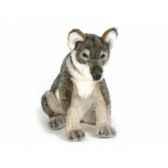 peluche loup bebe assis anima 5468